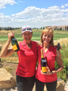 2016 Champions - Juli Guenther & Linda Reilly